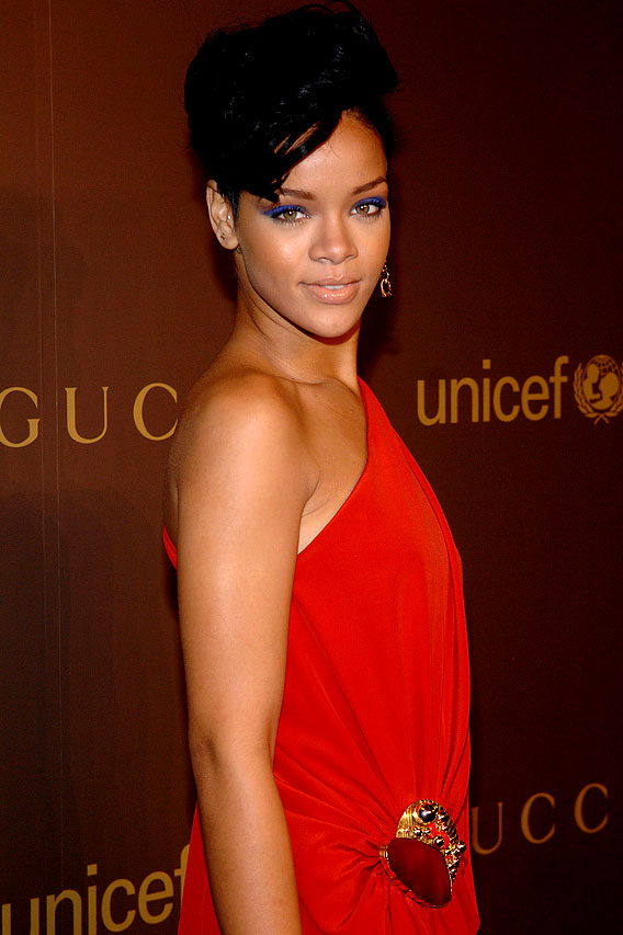 Rihanna Wears Her 'Heart' Over Her Shoulder