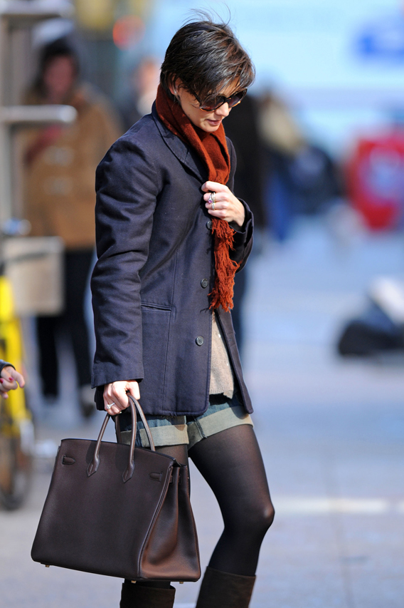 Katie Holmes Mum over Miu Miu Deal