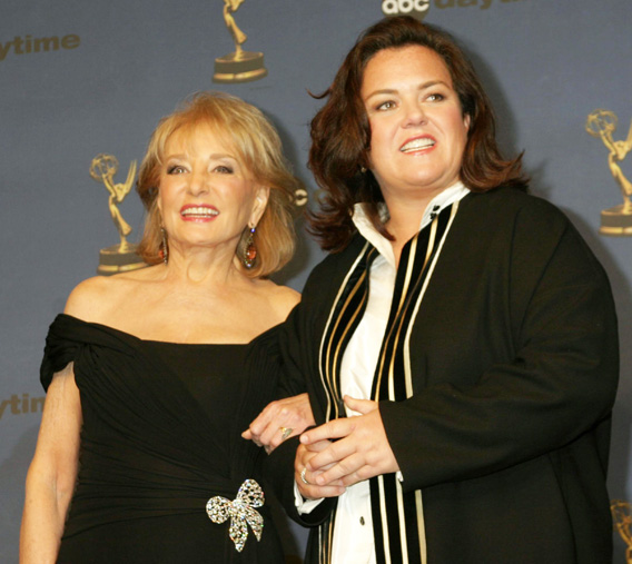 Rosie O'Donnell and Barbara Walters: All Out War