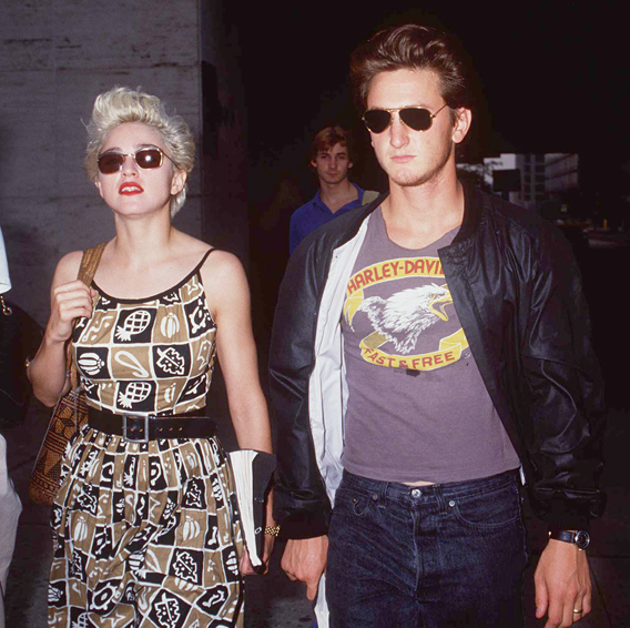 Madonna and Sean Penn Meet for Drinks