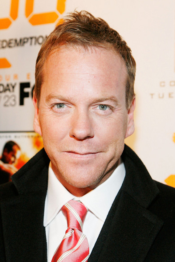 Kiefer Sutherland Is Back on '24: Redemption'