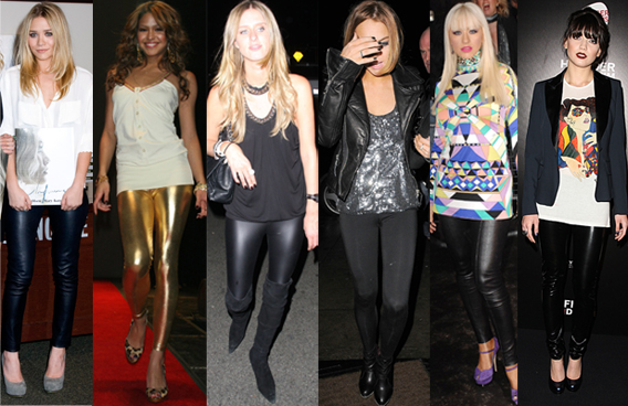 Trend Alert: Liquid Leggings!