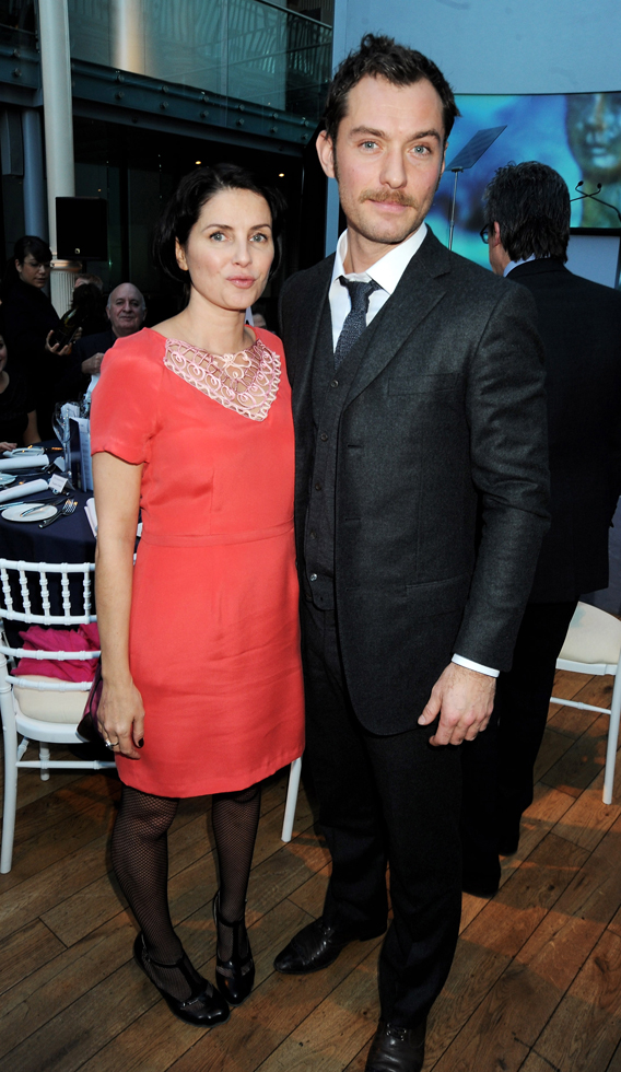 Jude Law and Sadie Frost Reunite In London
