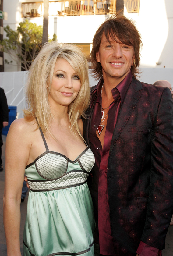 Heather Locklear and Her Ex to Do Turkey Day Together