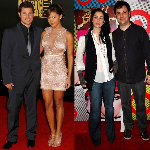 Couple Watch: Nick & Vanessa Strong; Silverman and Kimmel Too?