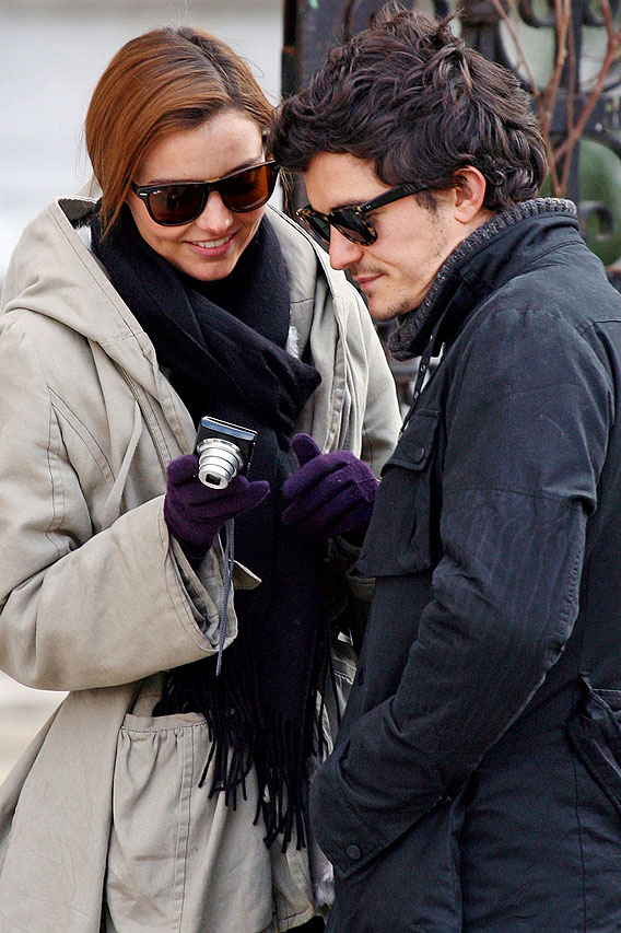 Orlando Bloom and Miranda Kerr: Love, Italian-Style