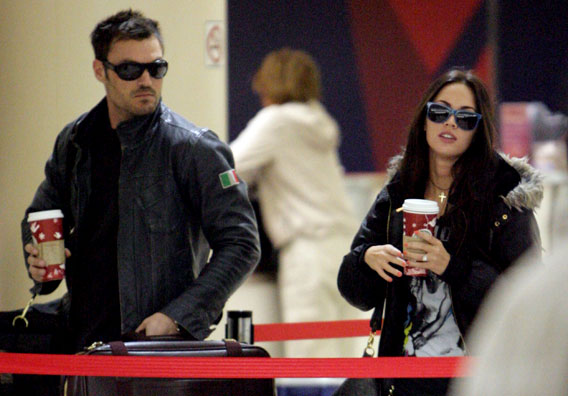 Megan Fox and Brian Austin Green: Not Re-LAX-ed