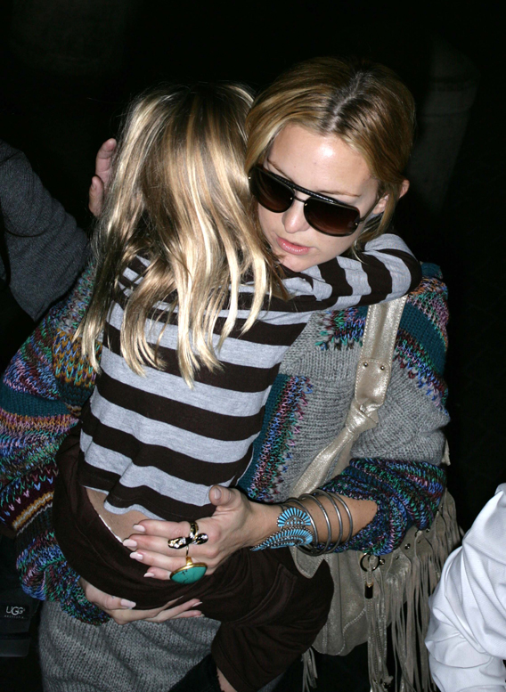 Kate Hudson and Ryder: Thankful to Be Home