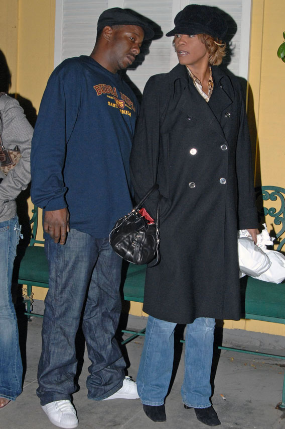 Whitney Houston and Bobby Brown: Back On?