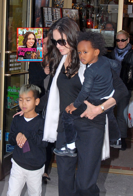 Rep Says Angelina Jolie Not Pregnant