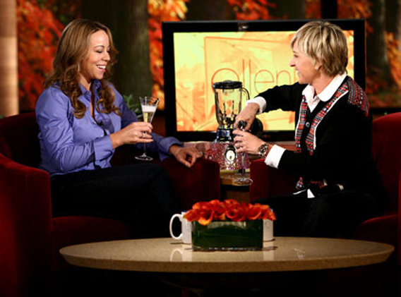 Mariah Carey Says No to Ellen's Champagne Room