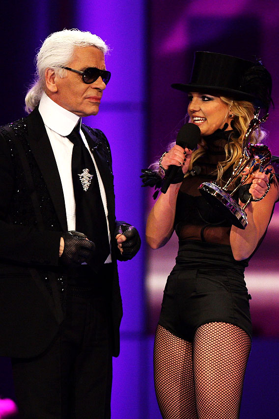 Britney Spears at the Bambi Awards
