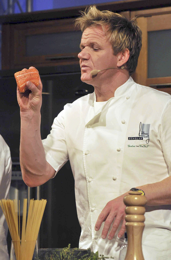 Gordon Ramsay: Gorging on Infidelity?