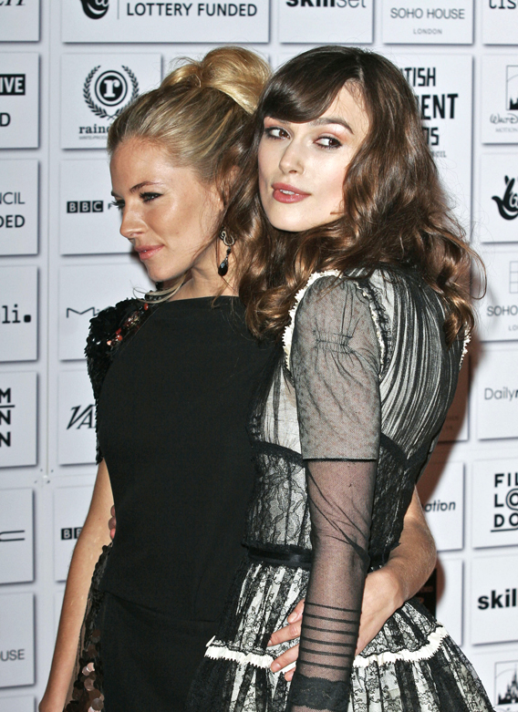 Keira Knightley and Sienna Miller: BFF's!