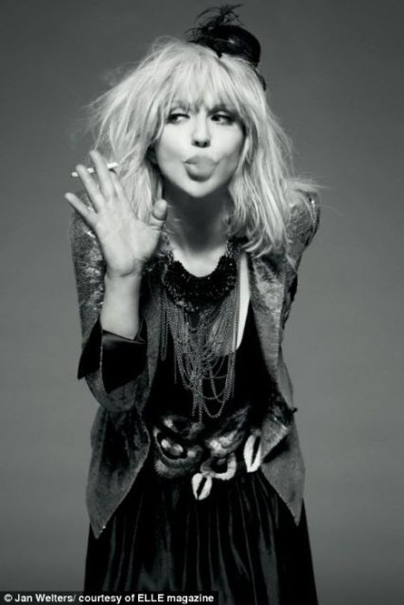 Courtney Love: 'Elle,' Yes!