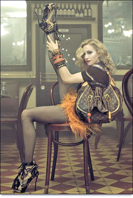 Revealed: Madonna's Campaign for Louis Vuitton