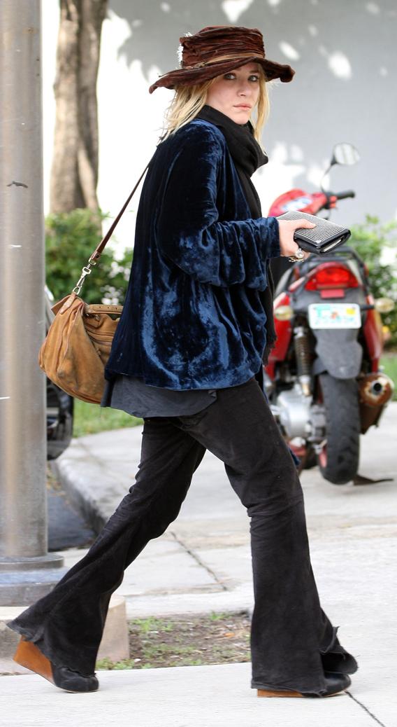 Mary-Kate Olsen's Inner Rocker Chick Shines Through