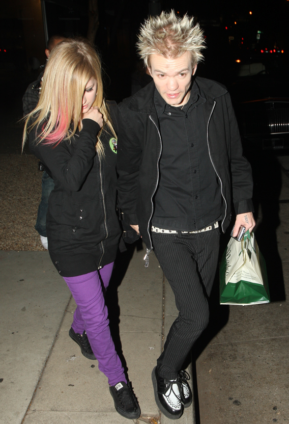 Avril Lavigne and Deryck Whibley: Still Married!