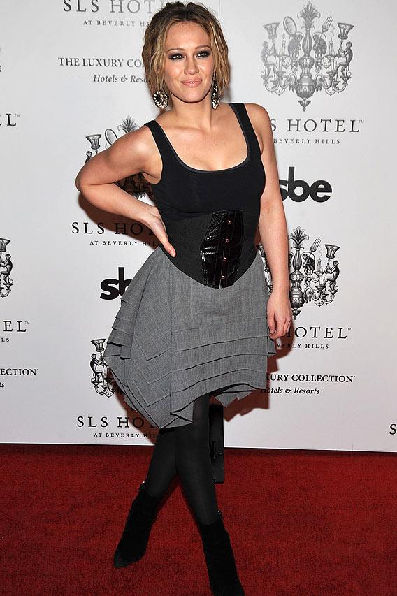 Whereabouts: Hilary Duff, Salma Hayek, Vanessa Hudgens