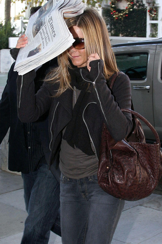 Jennifer Aniston: Hounded by the Press?
