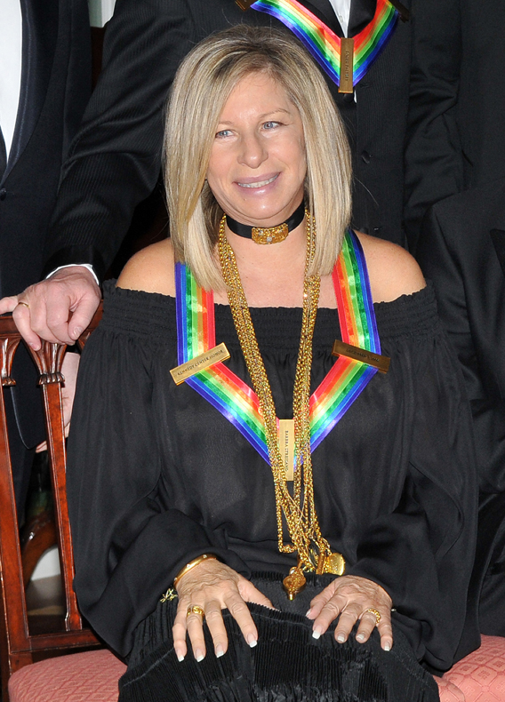 VIDEO: George W. Bush and Barbra Streisand Kiss!