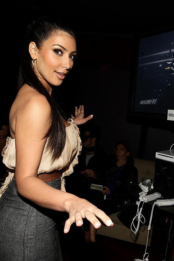 Kim Kardashian's 'Raving' Good Time