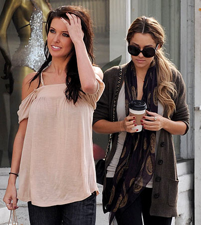 Audrina Patridge and Lauren Conrad's Two-Piece Truce