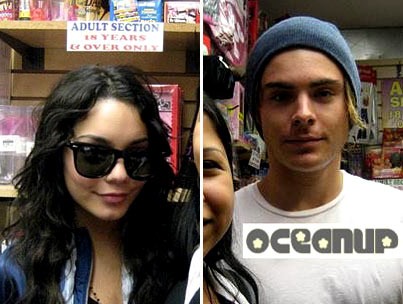 Zac Efron and Vanessa Hudgens Are Feeling Porny, Baby
