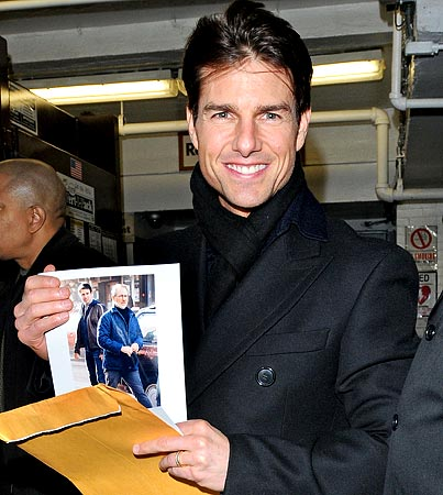 Tom Cruise: Crazy About Spielberg; Cool With Lauer