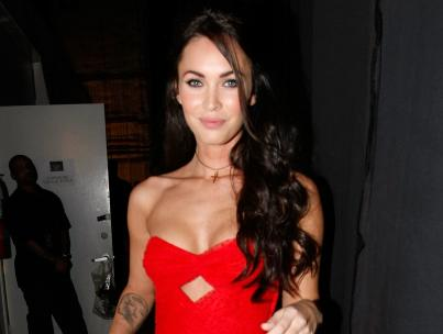 Megan Fox: Lady in Red at the Video Game Awards