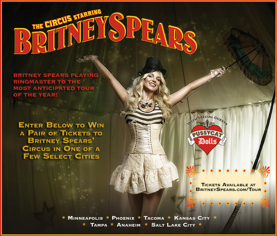 Win Tickets to Britney's Circus Tour Concert