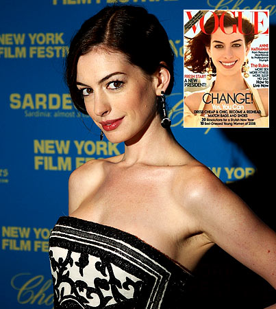 Anne Hathaway 'Vogue's It Up