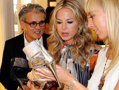 Whereabouts: Sarah Silverman, Rachel Zoe & Donatella Versace