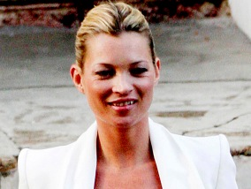 Kate Moss: I Love My…Boyfriend Blazer!