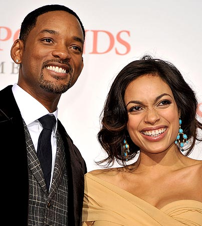 Will Smith and Rosario Dawson Bring 'Seven Pounds' to L.A.