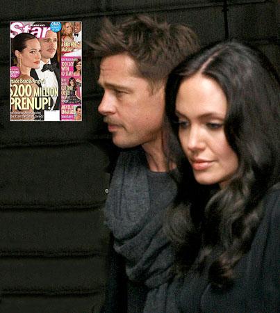 Brad Pitt and Angelina Jolie's $200 Mil Prenup
