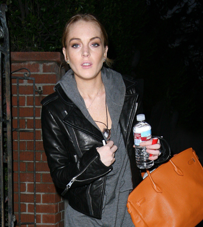Lindsay Lohan Attacked by Stalker
