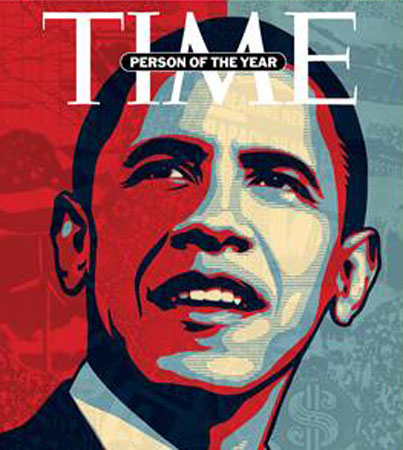 Barack Obama Named 'Time' Person of the Year