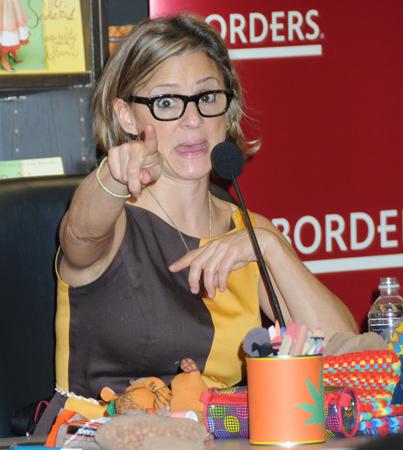 Amy Sedaris Gets Bookish at Borders