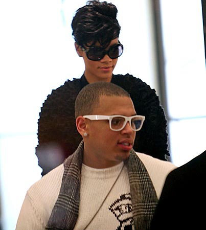 Rihanna and Chris Brown Do the City of Lights