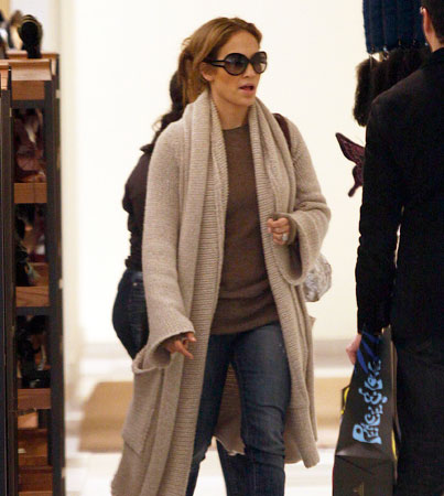 Celebs Converge on Barneys for Holiday Shopping