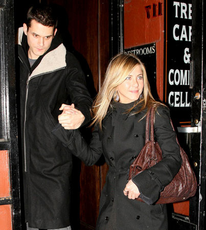 John Mayer and Jen Aniston: Inseparable?