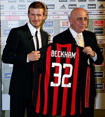 David Beckham's Italian Job