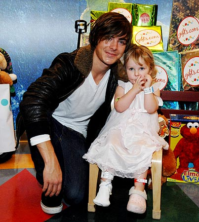 Zac Efron Does it for the Kids