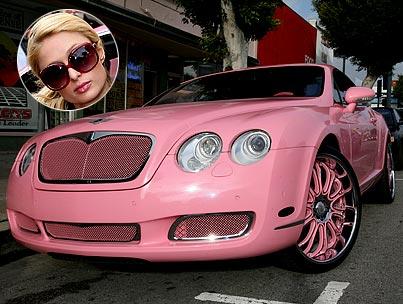 Paris Hilton Finally Gets Her Barbie Dream Car