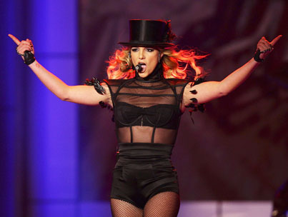 Britney Spears Choreography Shake-Up!