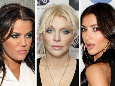 Courtney Love Takes On the Kardashians