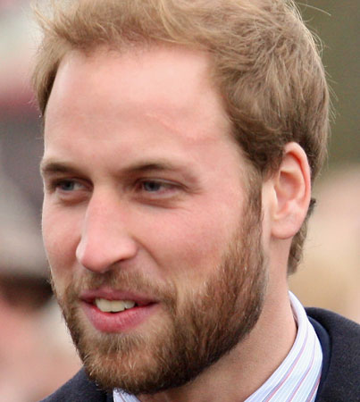 Prince William's Beard Getting the Axe - orig-3064481