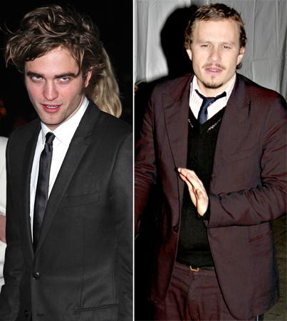 Robert Pattinson: Heath Ledger Is No Laughing Matter