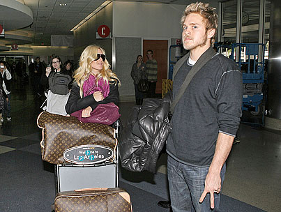 Heidi & Spencer Carry On at LAX